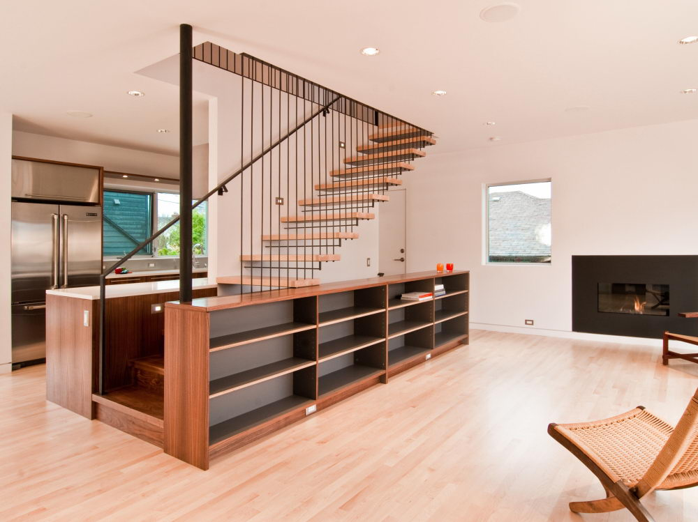 Maderas para escaleras venta de madera para escaleras for Como cerrar una escalera interior
